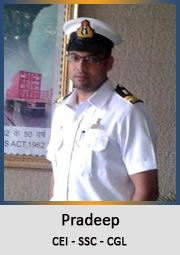 Pradeep-Custom-Excise-Inspector-SSC-CGL-2